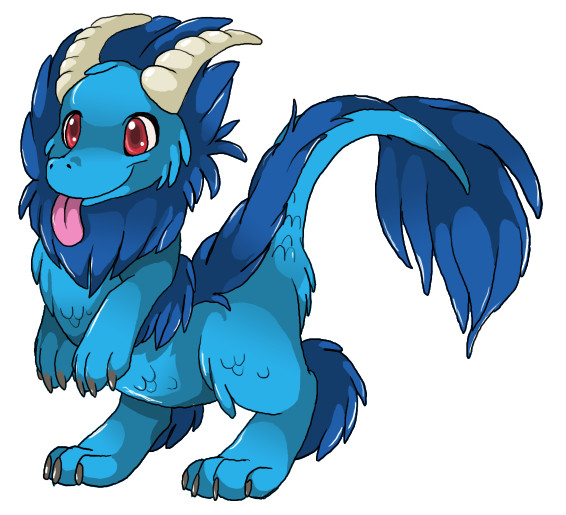 claw the ice/storm dragon