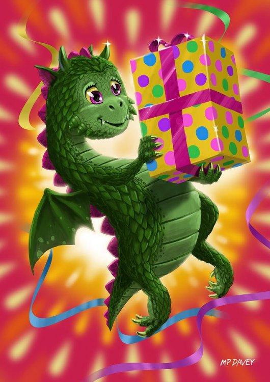 baby-birthday-dragon-with-present-martin-davey.jpg